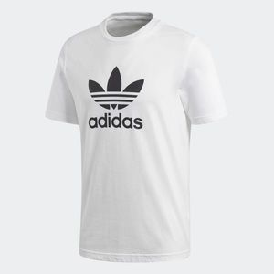 Men's Adidas Trefoil T-Shirt White size Medium